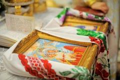 венчание иконы церемонии Стоковые Фото