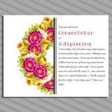 венчание иллюстрации карточки абстракции Стоковые Изображения RF