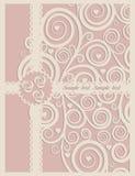 венчание иллюстрации карточки абстракции Стоковые Фото