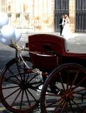 венчание кареты стоковое фото rf