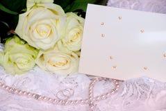 венчание карточки Стоковые Фото