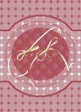 венчание карточки Стоковые Изображения RF