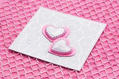 венчание карточки handmade роскошное Стоковые Фото