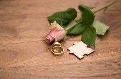 венчание кец розовое Стоковое Фото