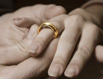 венчание кольца Стоковое Фото