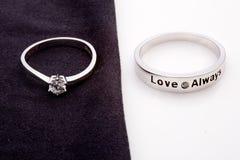 венчание кольца Стоковое Изображение RF