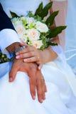 венчание кольца Стоковые Изображения RF