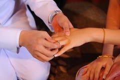 венчание кольца Стоковое фото RF