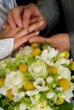 венчание кольца Стоковое Изображение
