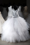 венчание магазина платья Стоковые Фото
