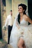 венчание места grunge пар Стоковая Фотография RF