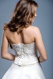венчание модели способа платья Стоковое Изображение