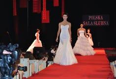 венчание модного парада стоковое изображение