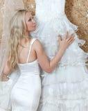 Венчание молодой женщины Стоковые Фото