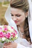 венчание невесты букета красотки Стоковое фото RF