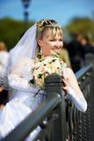 венчание невесты букета русское Стоковое фото RF