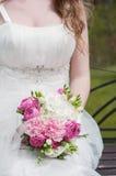 1 венчание невесты букета Стоковое Фото