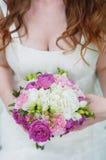 1 венчание невесты букета Стоковое Изображение