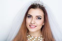 венчание невесты готовое Стоковое Фото