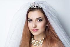 венчание невесты готовое Стоковое Изображение
