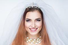венчание невесты готовое Стоковая Фотография RF