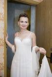 венчание невесты домашнее Стоковое Изображение