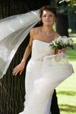 венчание невесты 4 букетов Стоковые Изображения RF