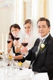 венчание официальныйа обед стоковая фотография rf