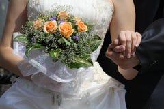 венчание пар предпосылки Стоковое фото RF
