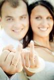 венчание пар счастливое Стоковое Фото