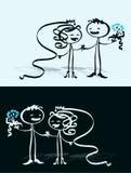 венчание пар Стоковые Изображения