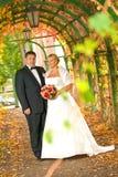 венчание пар Стоковое Изображение