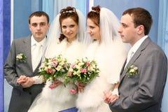 венчание пар Стоковое Фото