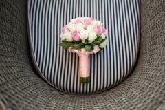 венчание переднего плана фокуса 3 букетов Стоковые Фотографии RF