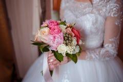 венчание переднего плана фокуса 3 букетов Стоковая Фотография RF