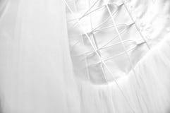 венчание платья детали Стоковые Изображения RF