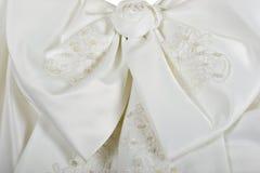 венчание платья смычка Стоковое Изображение
