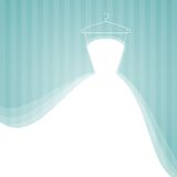 венчание платья Стоковое Изображение RF