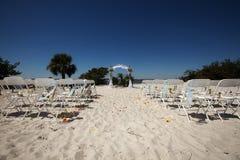 венчание пляжа стоковое фото rf