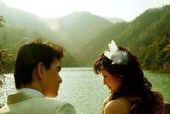 венчание портрета Стоковое Изображение RF