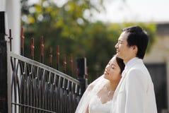 венчание портрета Стоковое фото RF