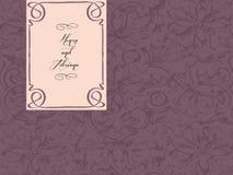 венчание приветствию карточки Стоковые Фото