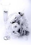 венчание приглашения карточки Стоковое Фото