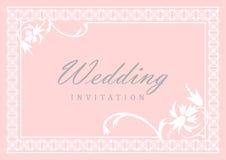 венчание приглашения карточки Стоковые Фото