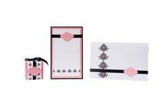 венчание приглашения подарка коробки Стоковое фото RF