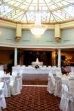 венчание приема залы стоковое фото rf