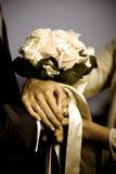 венчание принципиальной схемы букета стоковая фотография