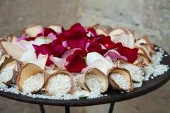 венчание риса Стоковое Изображение RF