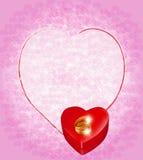 венчание романтичного символа приглашения сердец элегантности предпосылки теплое Стоковые Фотографии RF