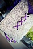 венчание романтичного символа приглашения сердец элегантности предпосылки теплое Стоковые Фото